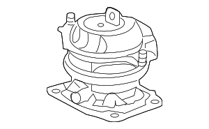 Rear Mount - Honda (50810-SZA-A02)