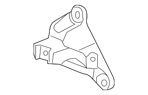 Bracket, Front Engine Mounting - Honda (50630-SZA-A00)
