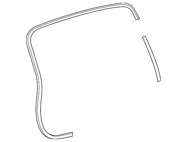 Body Weather-Strip - Toyota (67881-0E050)