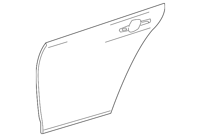 Outer Panel - Toyota (67113-47050)