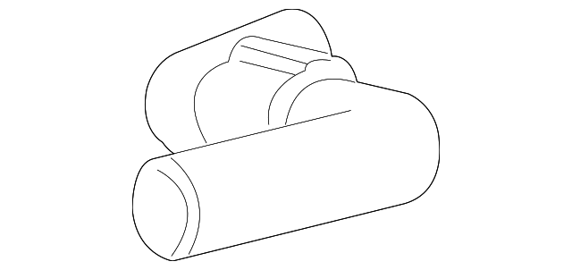 1F1Z-8A521-BB - Ford UPPER HOSE
