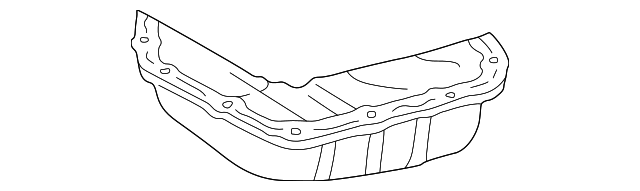Oil Pan - Toyota (12102-20010)
