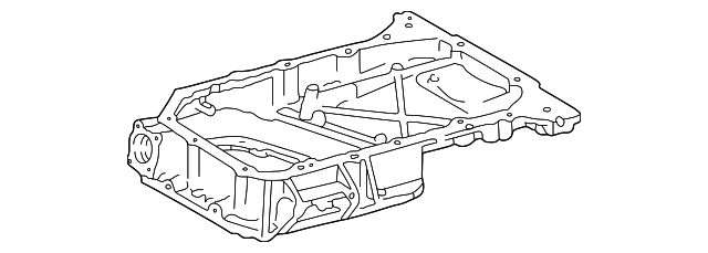 Oil Pan - Toyota (12111-0A040)