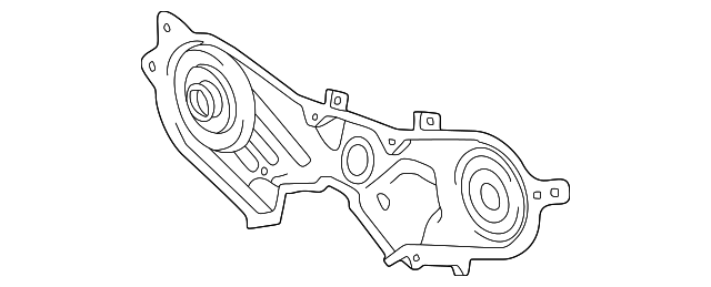 OEM Upper Timing Cover - Toyota (11323-20030)