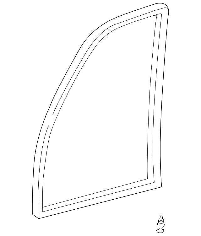 Door Weather-Strip - Toyota (67862-60101)