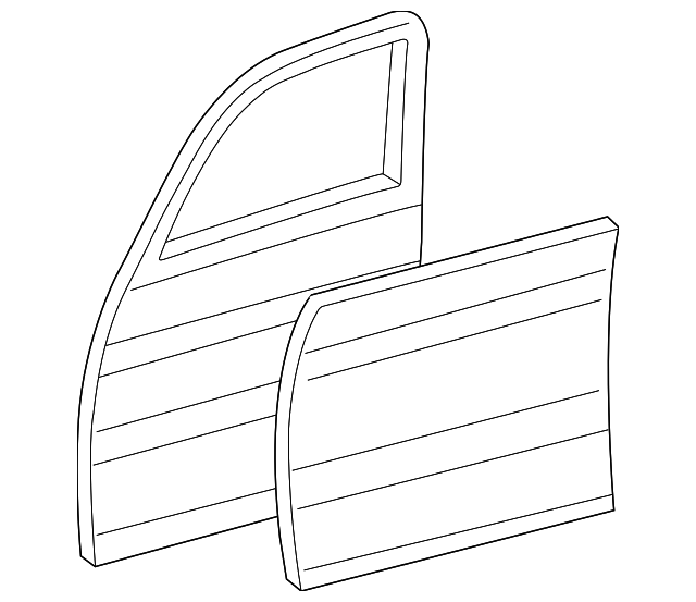 Door Shell - Toyota (67002-60450)