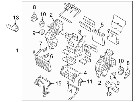 E46 Fuse Box Diagram
