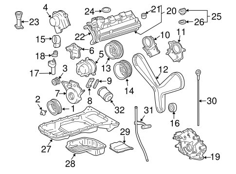 Timing Gear Set - Toyota (13523-50060)