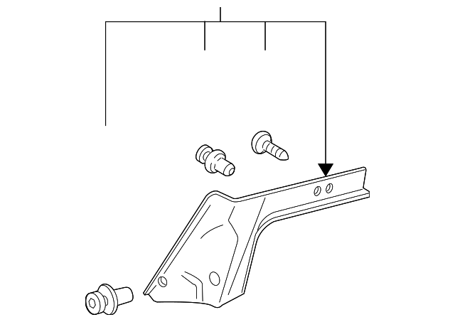 Partition Panel - Toyota (64271-02071-E0)