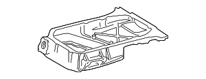 Oil Pan - Toyota (12111-0A030)