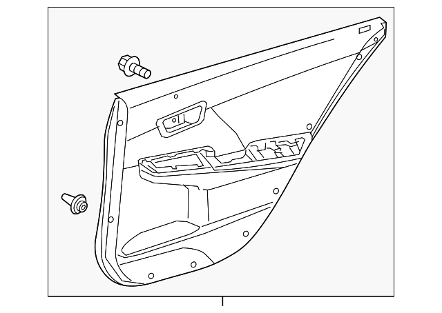Door Trim Panel - Toyota (67640-06F62-C6)
