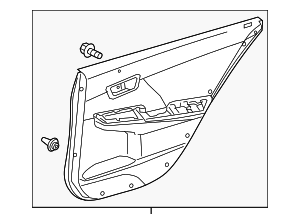 Door Trim Panel - Toyota (67640-06F61-B3)