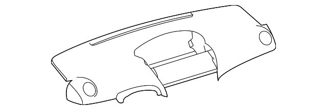 Upper Panel - Toyota (55302-52052-B0)