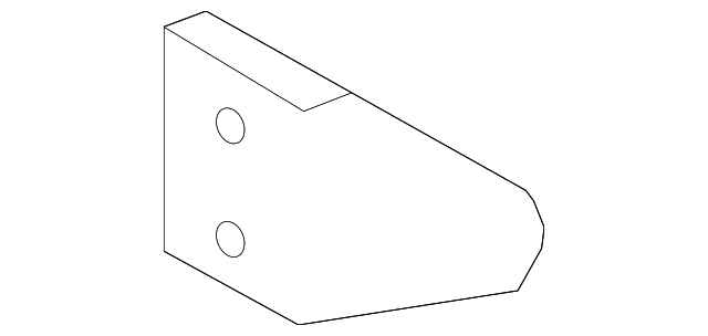 Lateral Rod Bracket - Toyota (12322-28050)