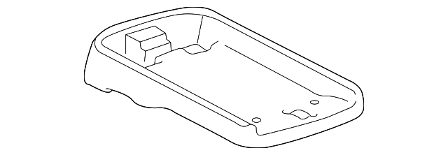 Console Assembly Box - Toyota (58811-AE010-E1)