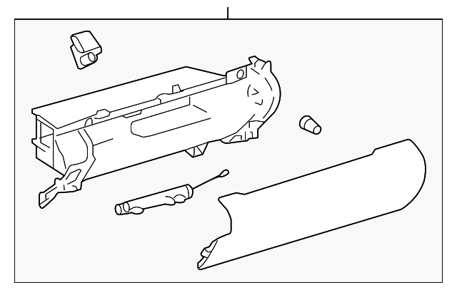 Glove Box Assembly - Toyota (55303-06390-A0)