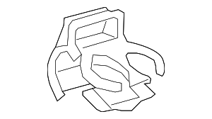 Rear Cup-Holder - Toyota (55604-02050-B1)