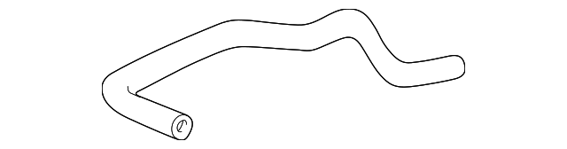 OEM Honda 19502-PCX-010 - Lower Hose