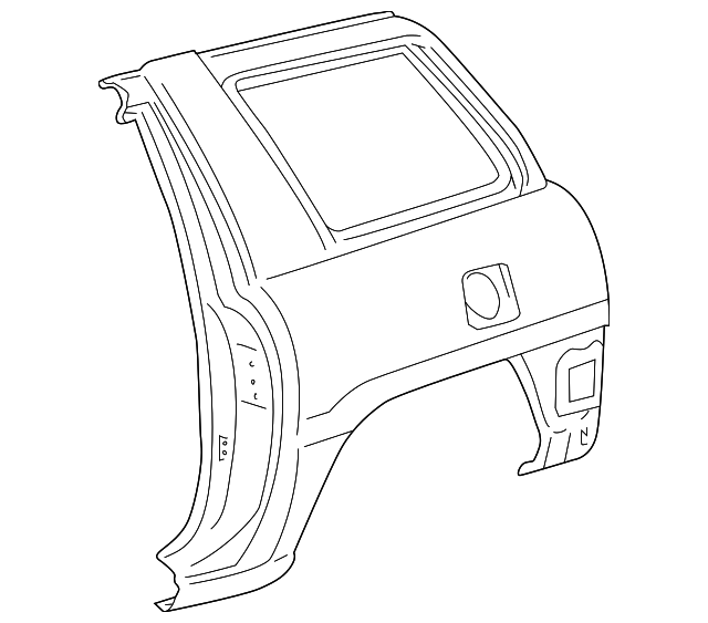 Quarter Panel - Toyota (61620-42110)