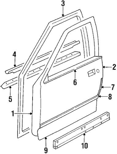 1986 - 1995 oldsmobile cutlass ciera  u0026 39 87