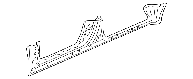 OEM Honda 04641-SHJ-A30ZZ - Panel, L Side Sill
