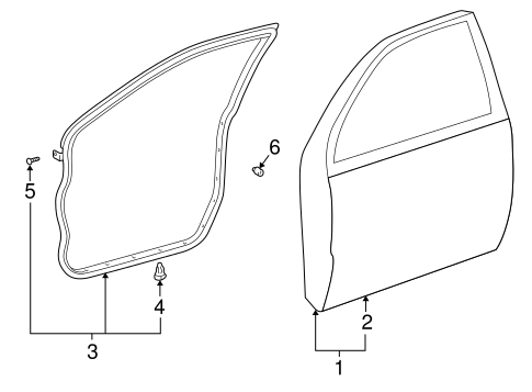 Outer Panel - Toyota (67111-48020)