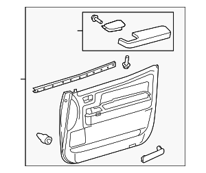 Door Trim Panel - Toyota (67620-0C371-C2)