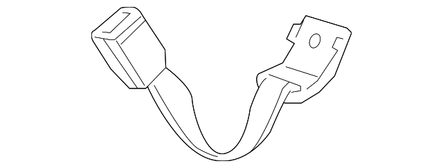 Outer Buckle - Honda (04823-TP6-A50ZB)