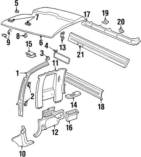 CAB For 1992 Chevrolet K1500 Pickup