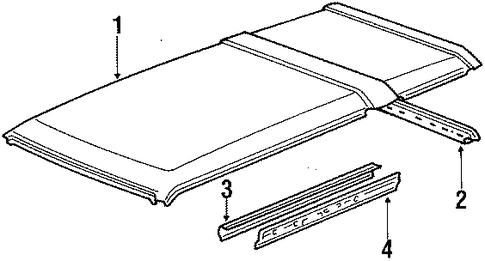 Roof Panel - Toyota (63111-16100)