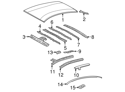 Center Reinforced - Toyota (63141-47021)