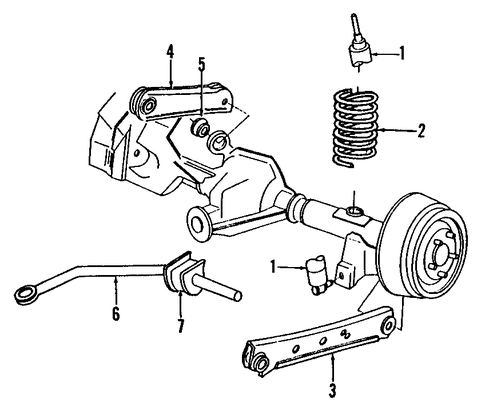 Ford Crown Victoria Front Suspension