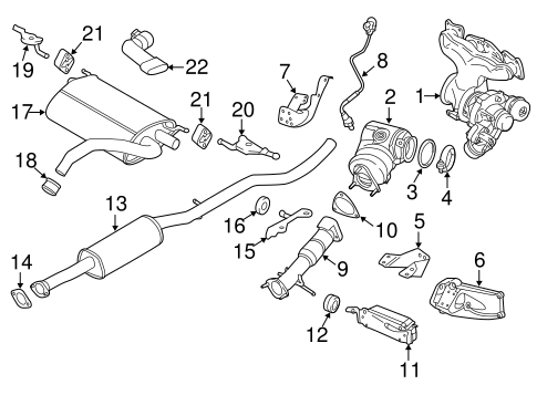 Front Pipe - Volvo (31293869)