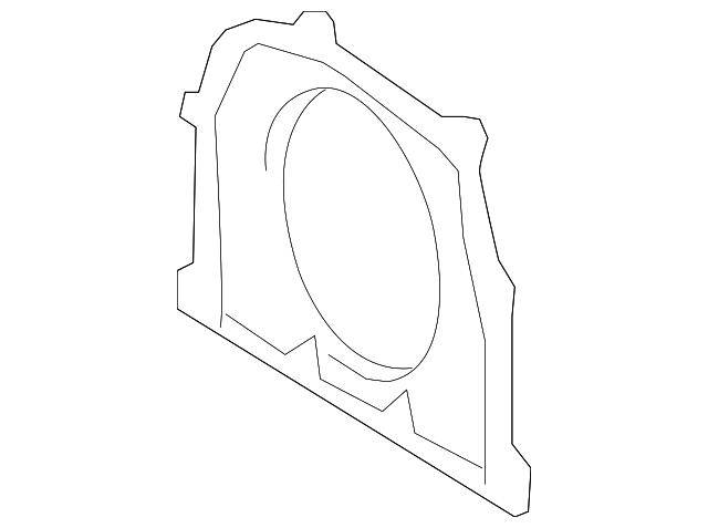 Rear Main Seal Retainer - Toyota (11381-31021)