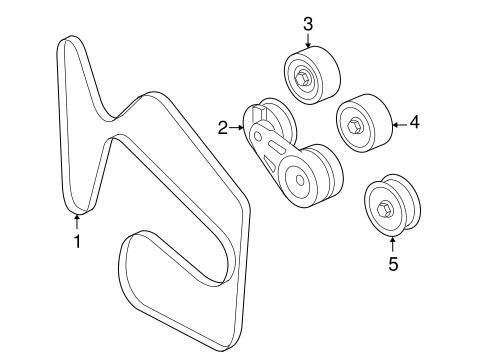 3 5l V6 Engines Belts Diagram
