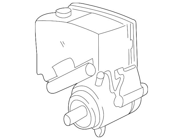 19299119 power steering pump for 1999 pontiac grand am