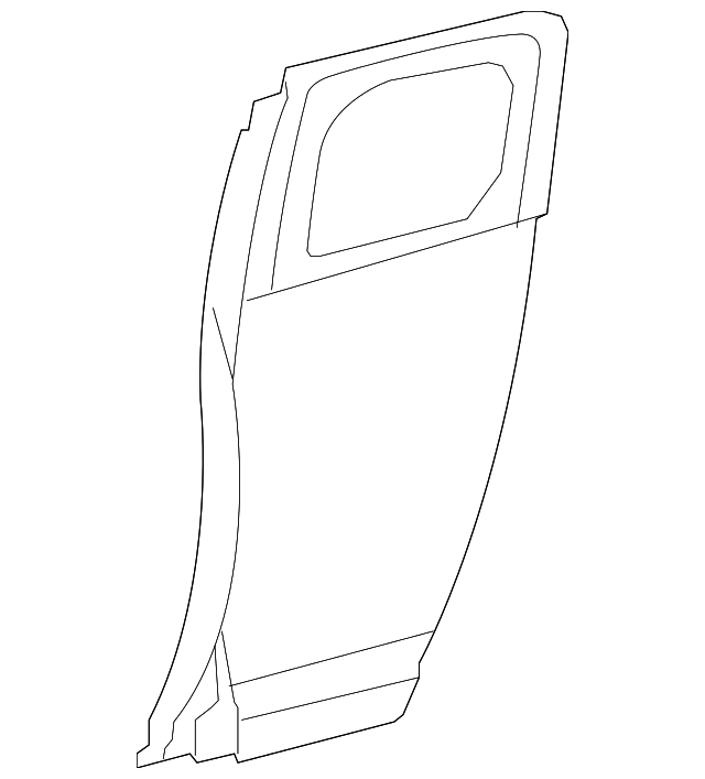 Outer Panel - Toyota (67113-35071)