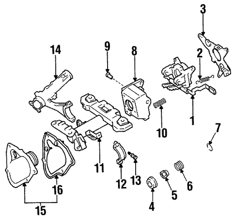 STEERING/HOUSING & COMPONENTS for 1997 Toyota Avalon #1