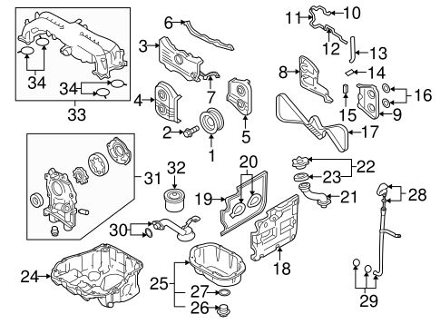 2005 subaru outback xt exhaust diagram