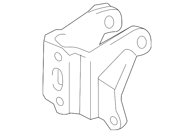 Rear Mount Bracket - Toyota (12321-22040)