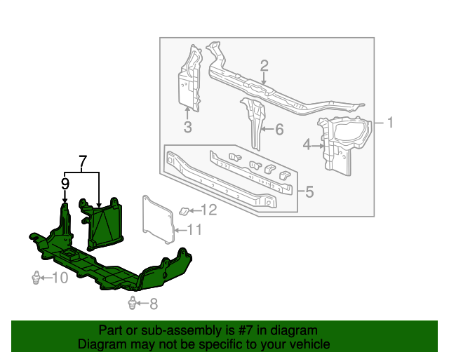 1997 Honda CIVIC SEDAN DX EXTENSION ASSY., SPLASH SHIELD - (74110SR3A01)