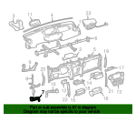 Reinforcement Mount Bracket - Toyota (55376-52030)