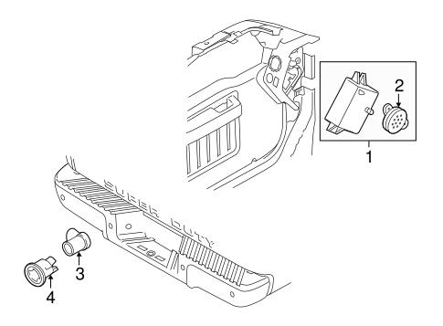 Ford Reverse Backup Parking Sensor