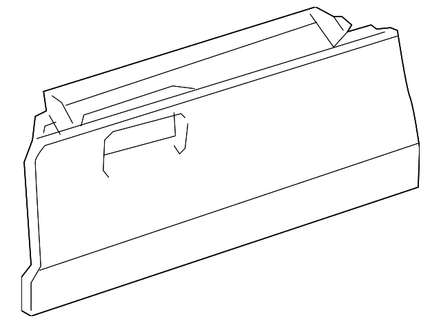 Glove Box - Toyota (55550-52291-B0)