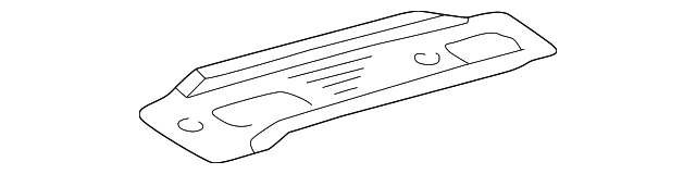 Rail Cover - Toyota (61522-08011-B0)
