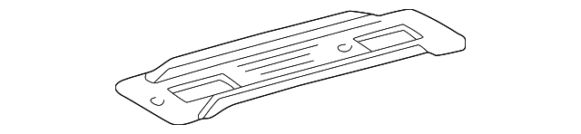 Rail Cover - Toyota (61512-08011-B0)