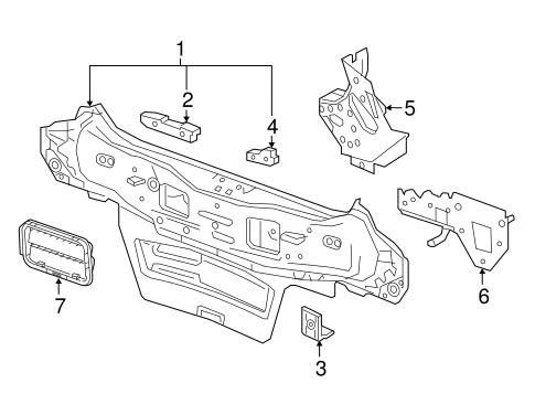 rear body parts for 2016 chevrolet spark. Black Bedroom Furniture Sets. Home Design Ideas