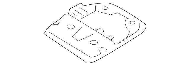 Map Lamp Assembly Plate - Toyota (63662-08020)