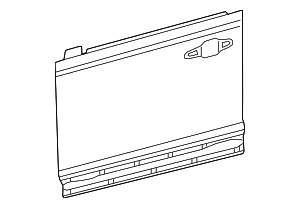 Outer Panel - Toyota (67111-0R040)