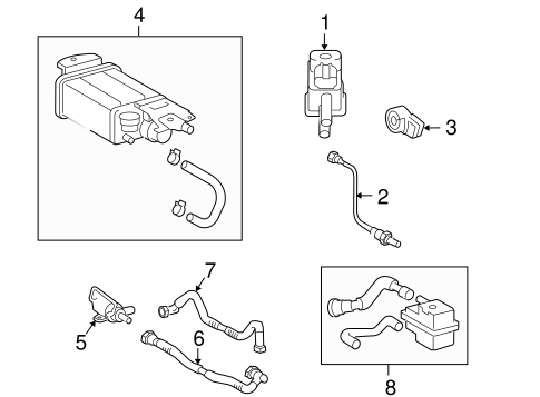 EMISSION SYSTEM/EMISSION COMPONENTS for 2009 Toyota Camry #1